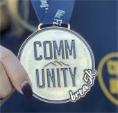 Photo of community 5k medal