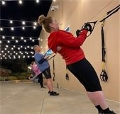 TRX class at the Brea Fitness Center