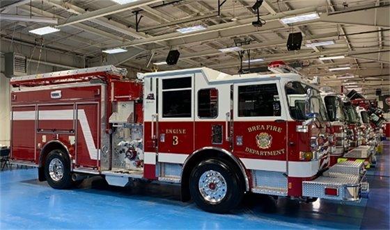Brea Fire Truck