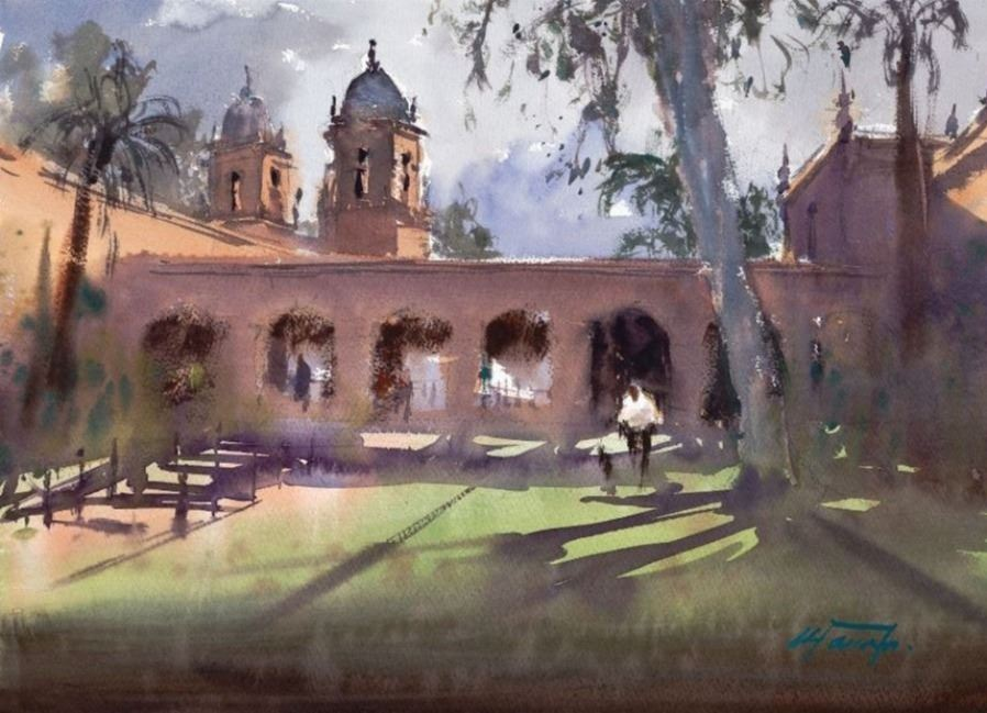 Balboa Park Morning Light