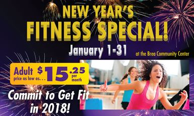 January Fitness Membership Special