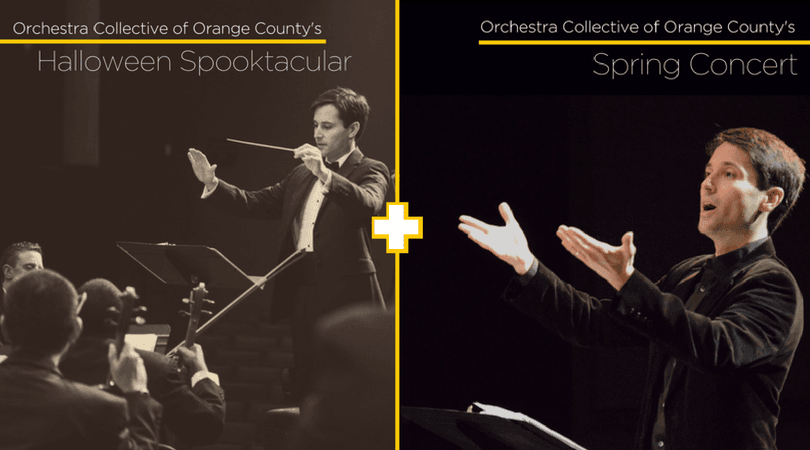 Orchestra Collective of Orange County Halloween Spooktacular + Spring Concert