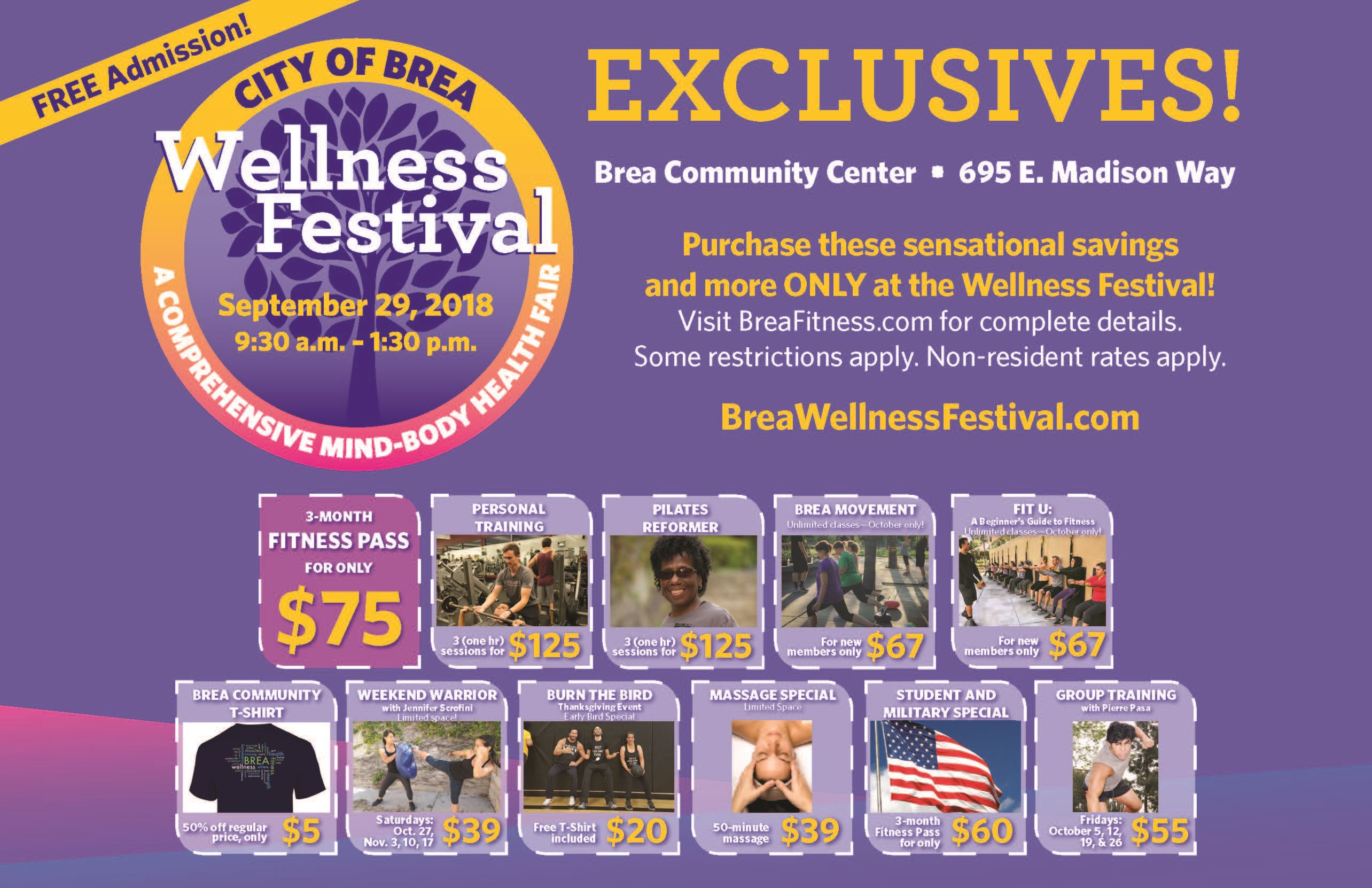 Wellness VISIX EXCLUSIVES