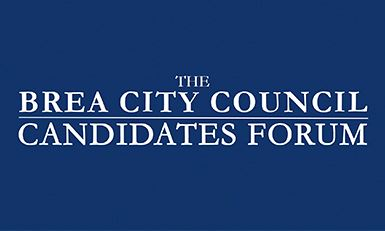 Brea City Council Candidates Forum Logo