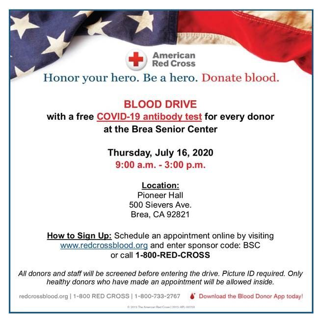 BSC Blood Drive