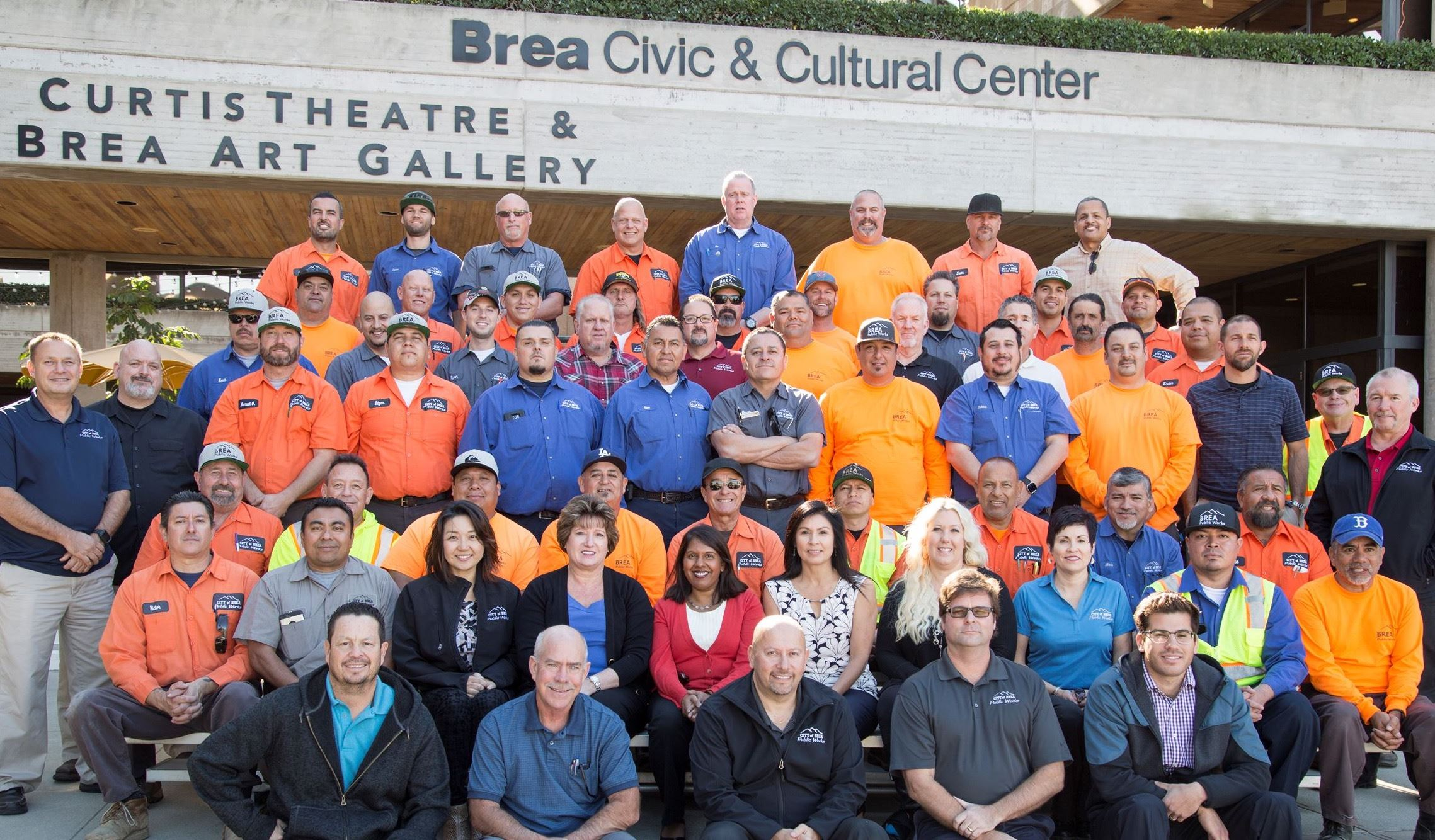 2017 Public Works Department Photo