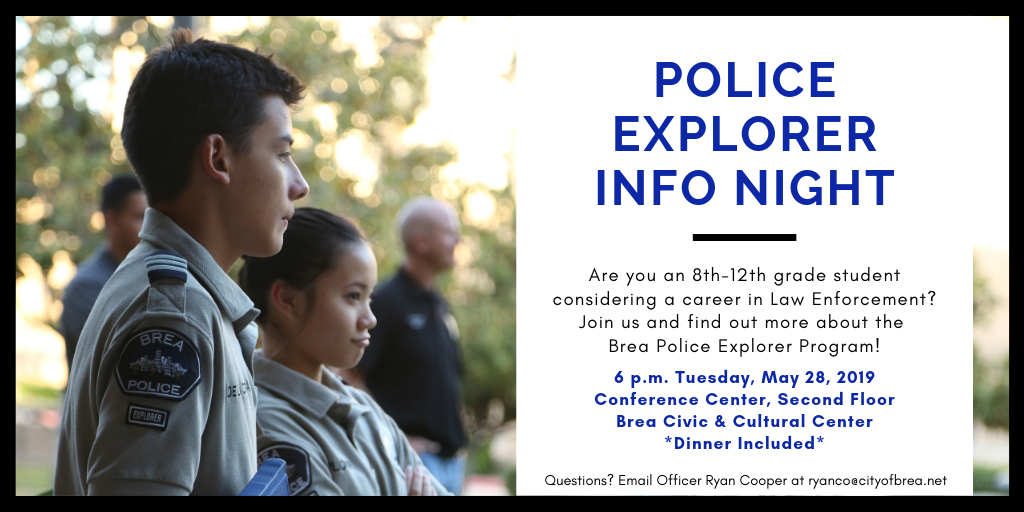 Police Explorer Info Night