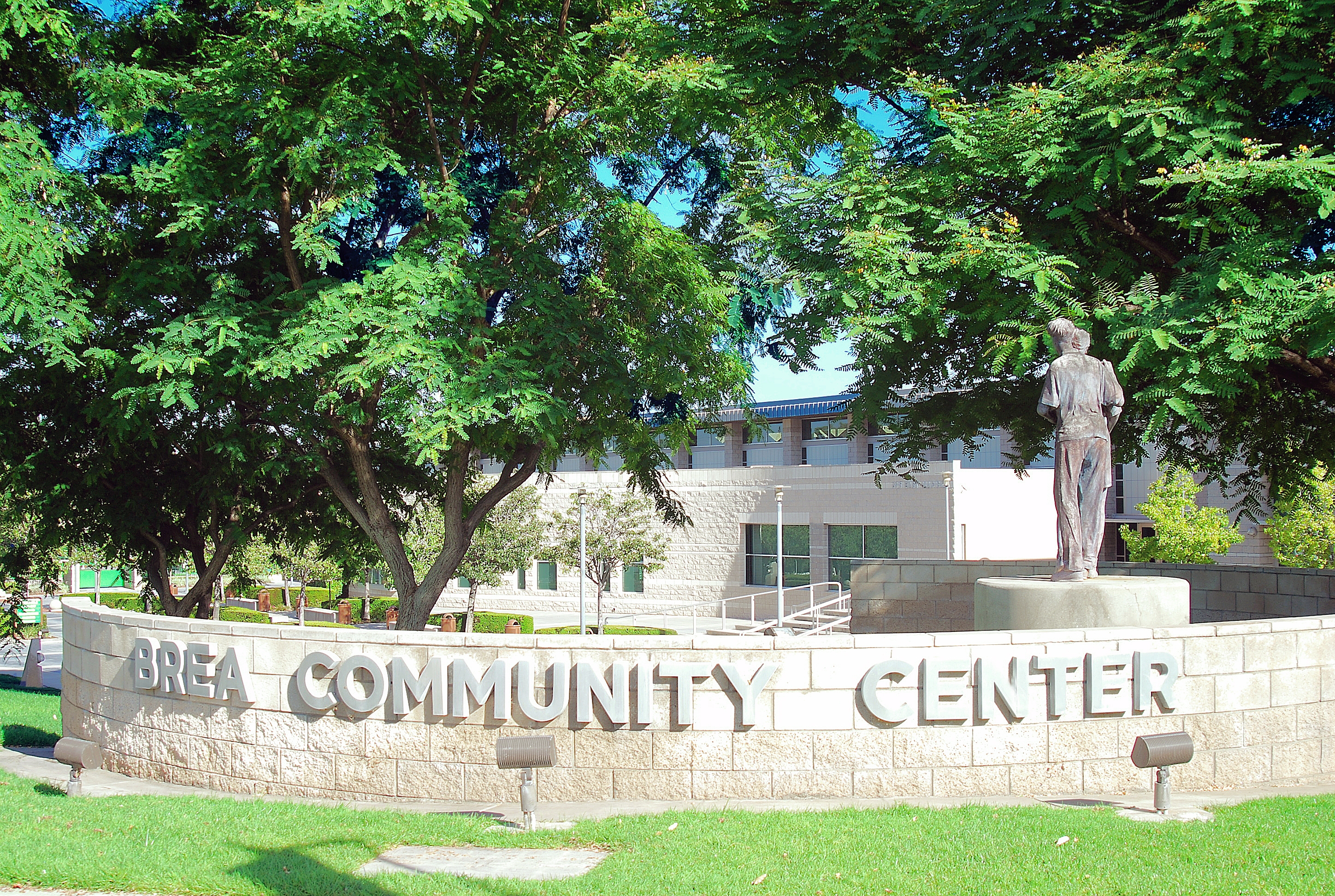 brea community center exterior