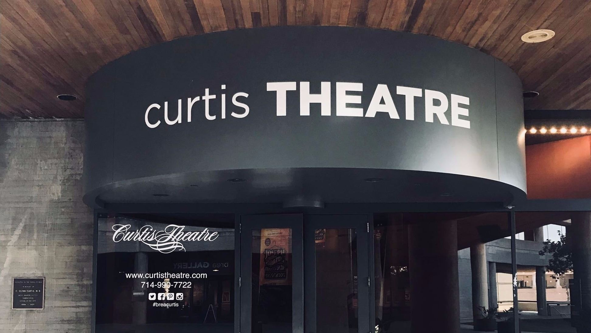 Curtis Theatre front 2017