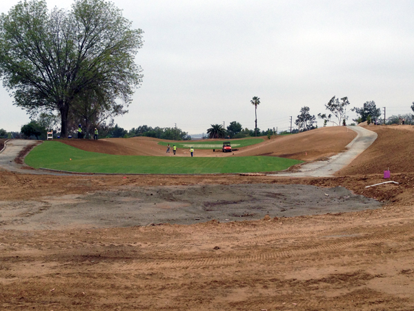 Photo of Birch Hills hole #1 in progress