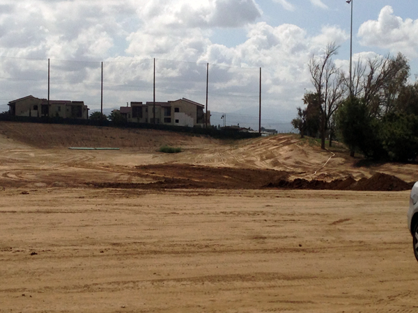 Progress photos Driving Range Shaping Birch Hills
