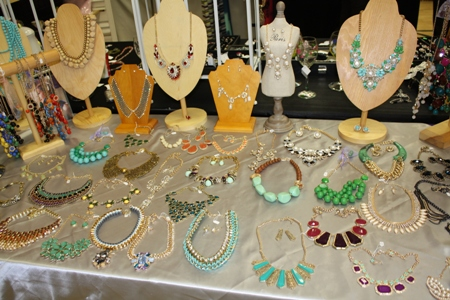 Jewelry Show vendor display